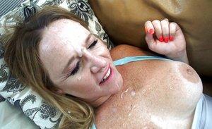 Cum on Face BBW Sex Pics