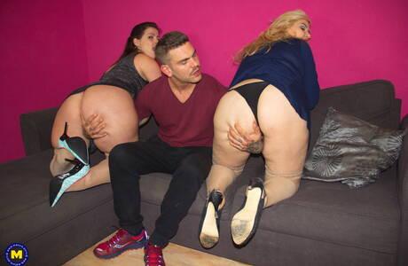 Blonde BBW Sex Pics