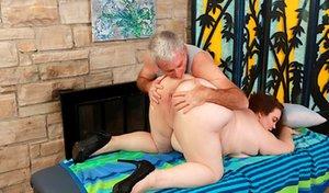 Oldman with BBW Sex Pics
